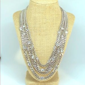 Fabulous Multi chain with Rhinestones, New